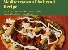 Disney's Festival of the Arts Mediterranean Flatbread Recipe