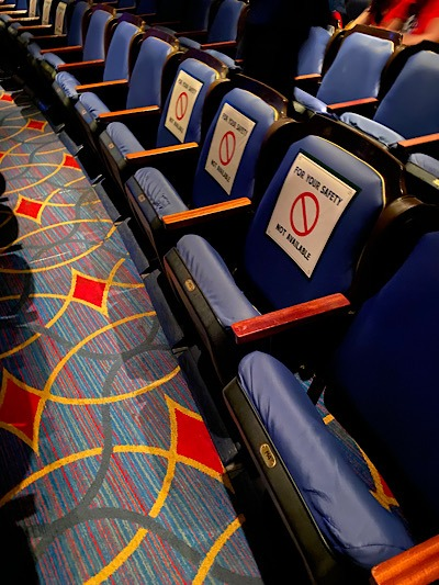 WDW Changes-Seating