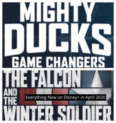 New to Disney+ in April 2021