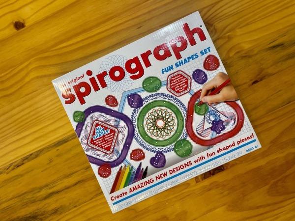 Frozen Spirographs