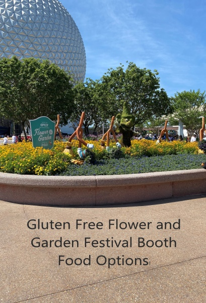 Gluten Free Flower and Garden Festival Booth Food Options!