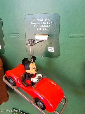 Mickey Car Ornament