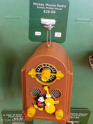 Mickey Clock Ornament