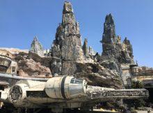 The Millennium Falcon attraction at Galaxy's Edge