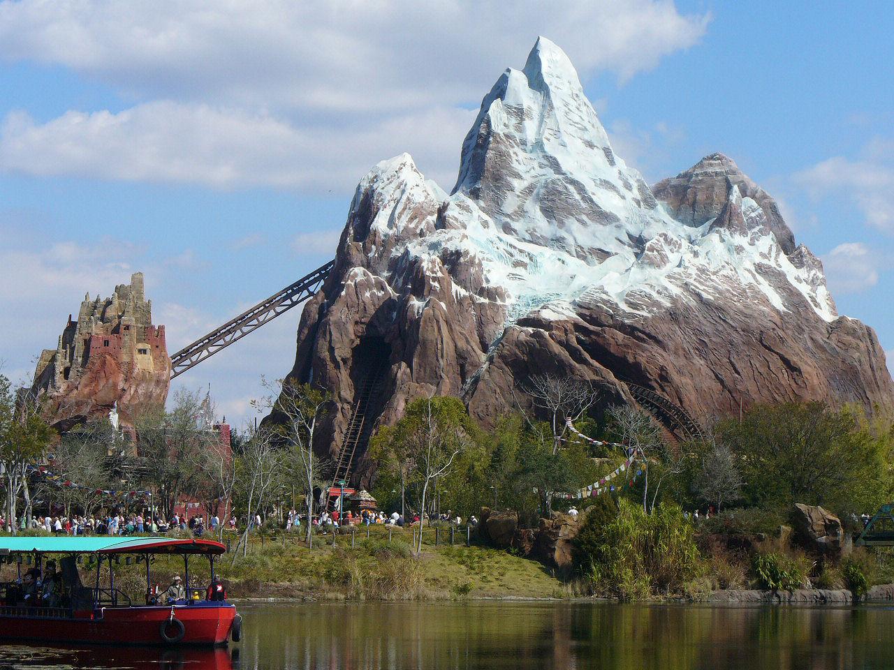 Disney Theme Park Desktop Wallpaper