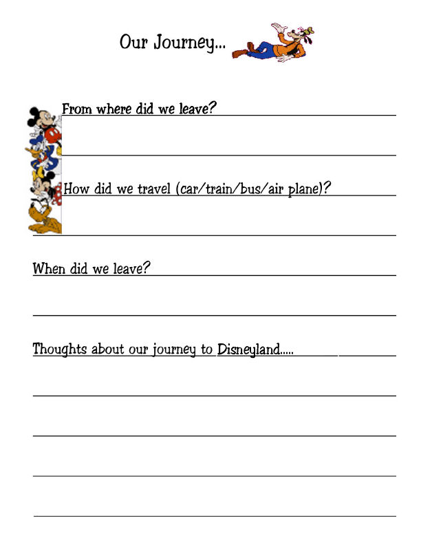 Printable cruise travel journal - Welcome · Online trip journal kids