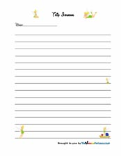 blank diary page template car tuning