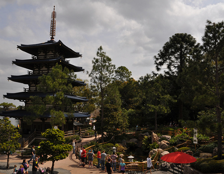 Japan in Epcot #DisneyWorld