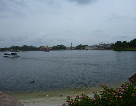 World Showcase Lagoon in Epcot