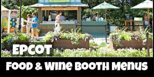 Food & Wine Food Booths