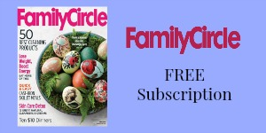Family Circle Giveaway