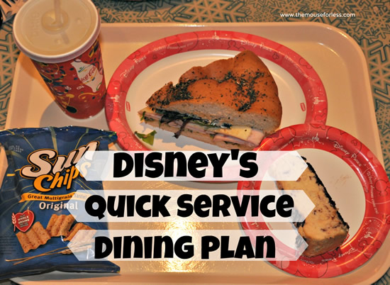 Magic Your Way Quick Service Dining Plan