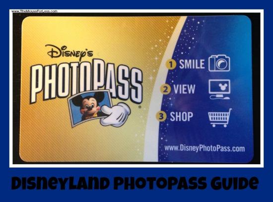 Disneyland Resort PhotoPass