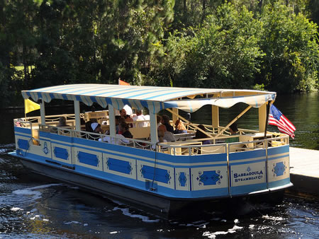 Disney Resort Boat Transportation