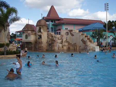 Disney Resort Swimming