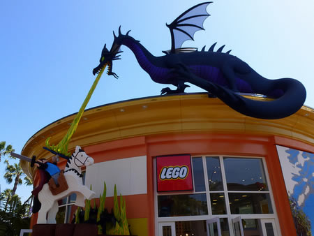 Lego Store Downtown Disney