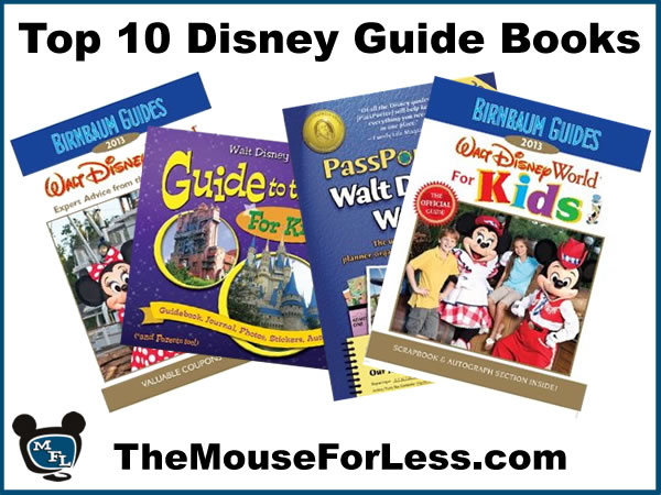 Top Ten Disney Guide Books