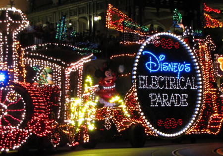 Main Street Electrical Parade at Magic Kingdom