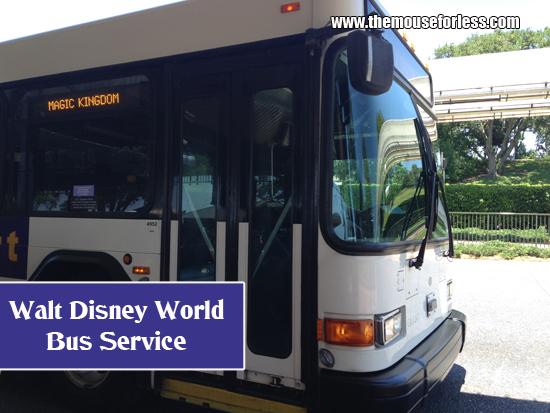 Walt Disney World Bus Service - Getting Around the Walt Disney World Resort