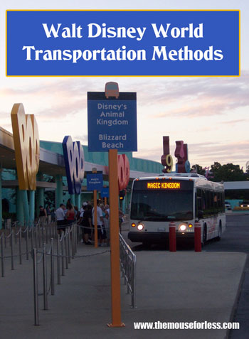 Modes of Transportation at Walt Disney World Resort