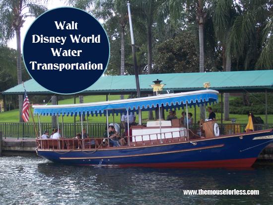 Walt Disney World Water Transportation - Getting Around the Walt Disney World Resort