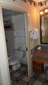 Bathroom - Family Suites at Disney's All Star Music Resort
