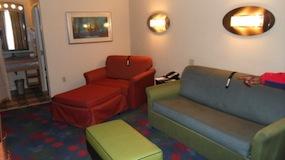 Livingroom - Family Suites at Disney's All Star Music Resort