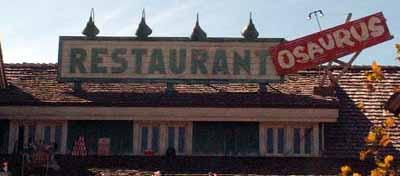 Reviews of Flame Restaurantosaurus at Disney's Animal Kingdom