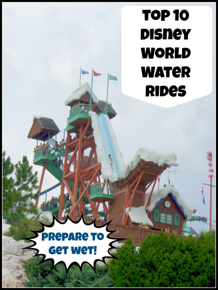 Top 10 Water Rides at Walt Disney World