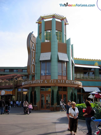 Reviews of Downtown Disney Catal Restaurant