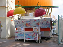 California Adventure Snack Carts cart4