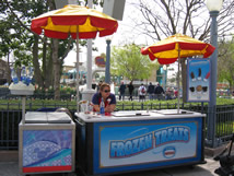 Cart5 California Adventure Snack Carts