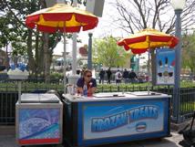 Cart5 California Adventure Snack Carts