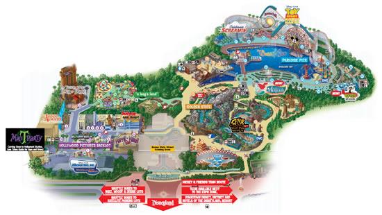 550 x 310 jpeg 52kB, 2015 Disneyland California Adventure Map