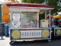 Pretzels California Adventure Snack Carts