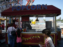 Popcorn California Adventure Snack Carts