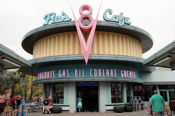 Reviews of Disney California Adventure Flo's V8 Cafe Review