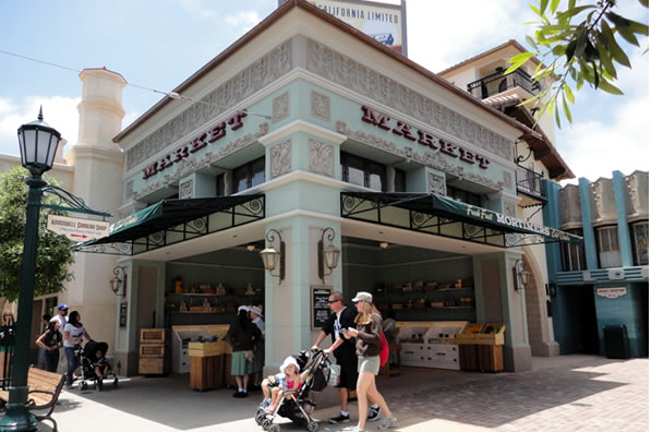 Reviews of Disney California Adventure Mortimer's Market