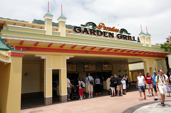 Reviews of Disney California Adventure Paradise Garden Grill