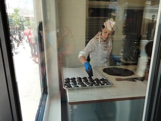 Master Candysmith at work