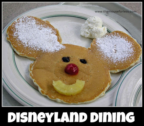Disneyland Resort Restaurant Menus