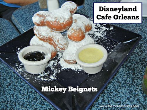 Cafe Orleans Menu New Orleans Square At Disneyland Resort