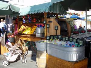 Disneyland Snack Cart Menus