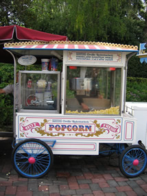Disneyland Snack Cart