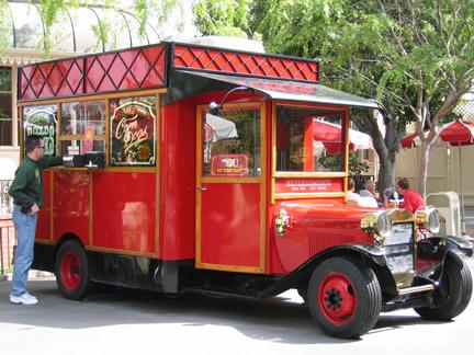 Disneyland Snack Carts Menu Disneyland Theme Park