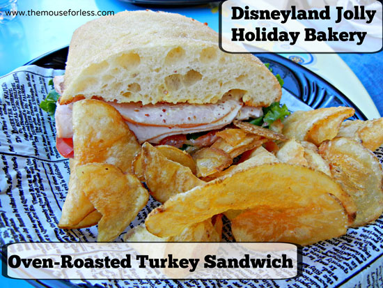 Oven Roasted Turkey Sandwich from Jolly Holiday Bakery Cafe at Disneyland