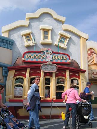 Reviews of Disneyland Daisy's Diner