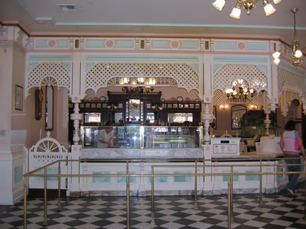 Reviews of Disneyland Gibson Girls Ice Cream Parlor
