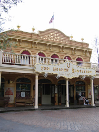 Reviews of Disneyland The Golden Horseshoe