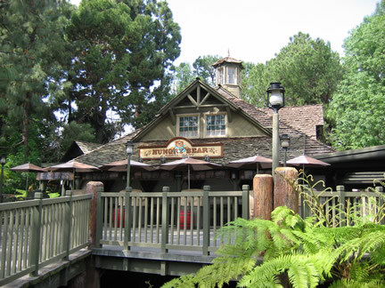 Reviews of Disneyland Hungry Bear Restaurant